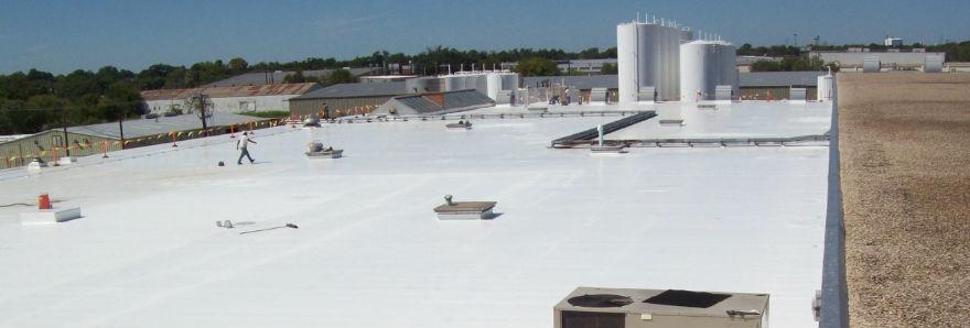 POLYURETHANE FOAM ROOFS WITH NOVATUFF COATINGS EPOXY ROOF COATINGS & Roof Coating on Polyurethane Foam - NovaTuff Coatings memphite.com